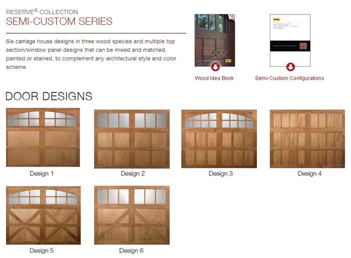 Semi custom series maryland garage door for Garage door repair bowie md